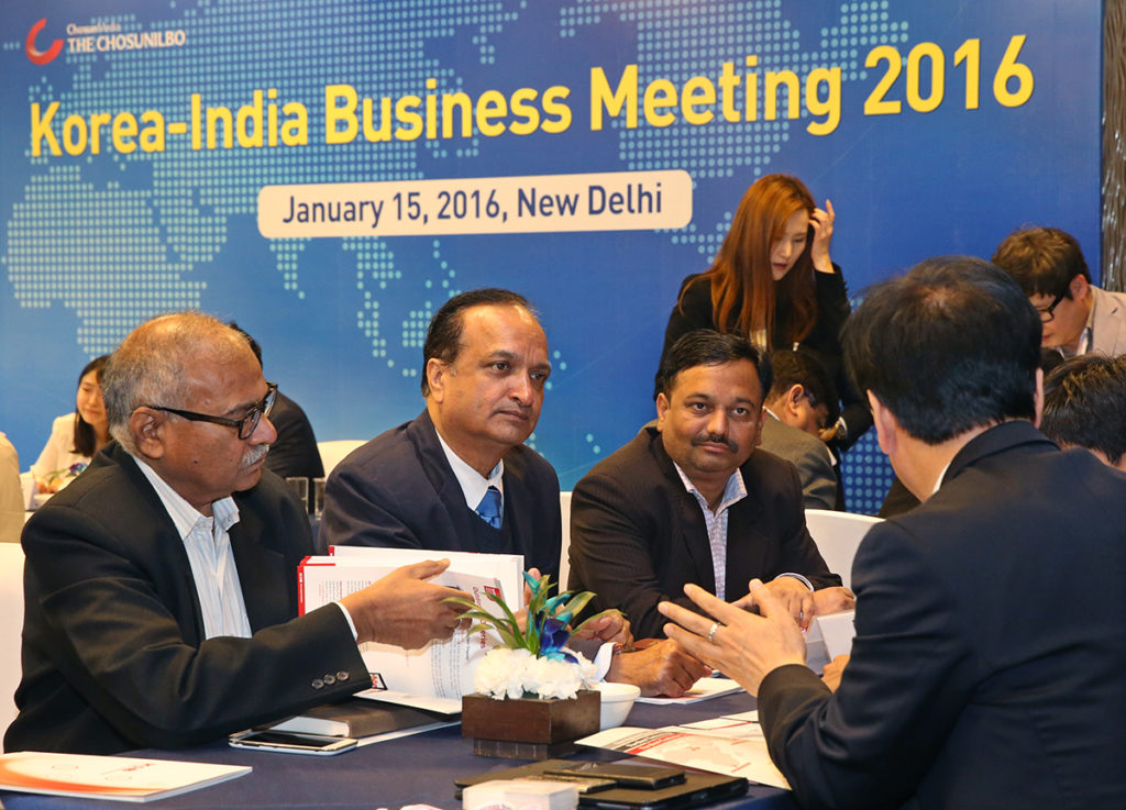INDIA-KOREA BUSINESS SUMMIT 2016
