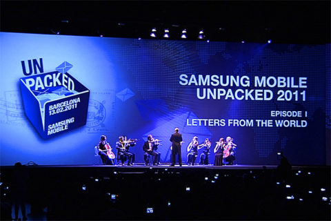 SAMSUNG MOBILE UNPACKED 2011